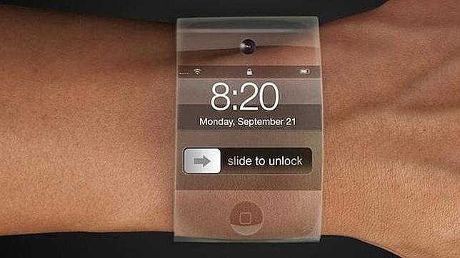 Otro de los diseños de iWatch más discreto