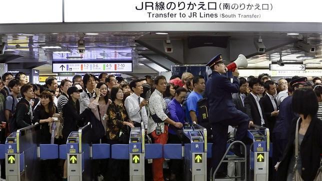 El metro de Tokio