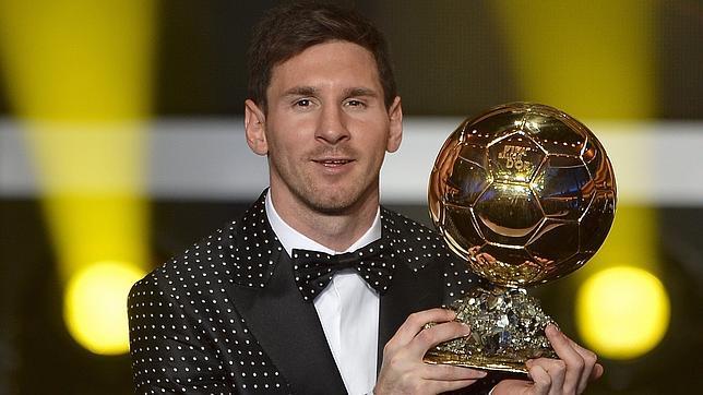 Messi gana su cuarto Balón de Oro