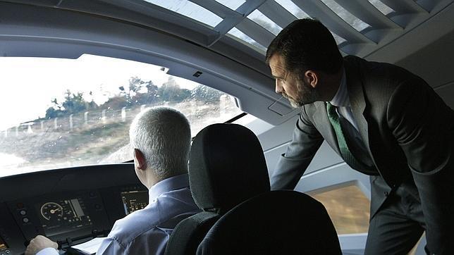 El Príncipe Felipe: «Somos un país en marcha»