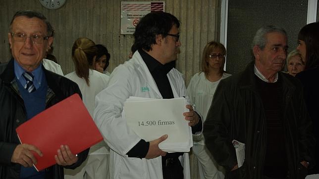 Masiva respuesta ciudadana contra el cierre del laboratorio del Hospital de Calatayud