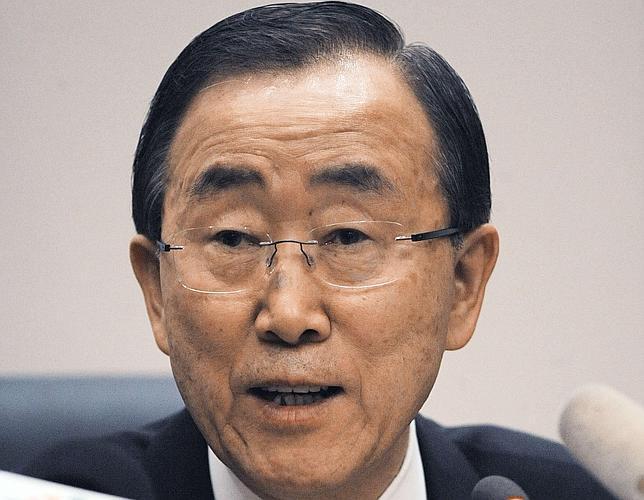 Ban Ki Moon pide al Gobierno sirio que termine la guerra «en nombre de la humanidad»