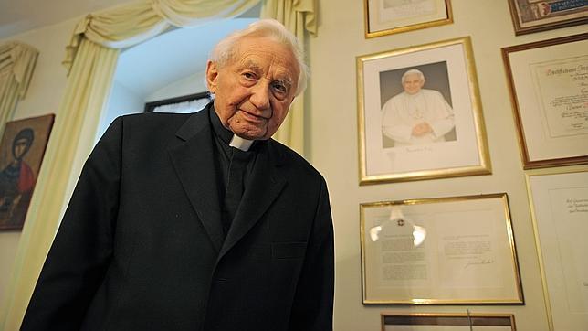 Georg Ratzinger: «Mi hermano había perdido las fuerzas»