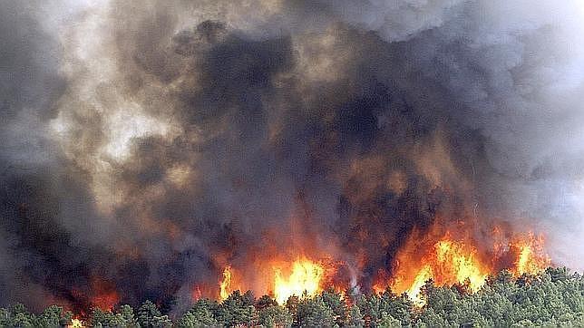 Incendio del verano de 2012 en Robledo de Chavela