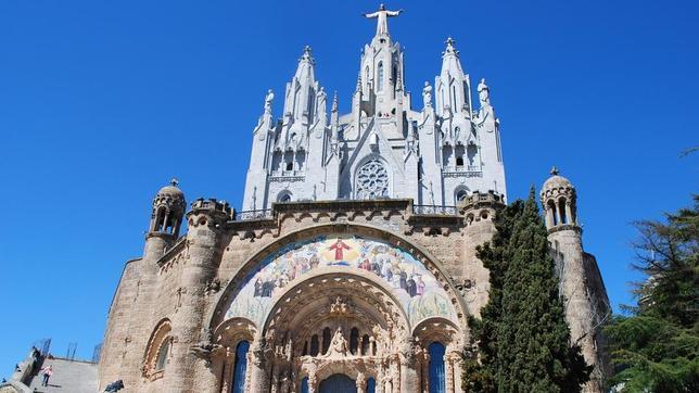 Templo Nacional Expiatorio Sagrado Corazón de Jesús,en Barcelona