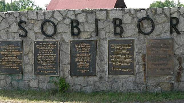 Memorial a las víctimas del campo de concentración de Sobibor en Polonia