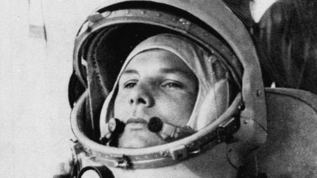 Yuri Gagarin, en una imagen de 1961