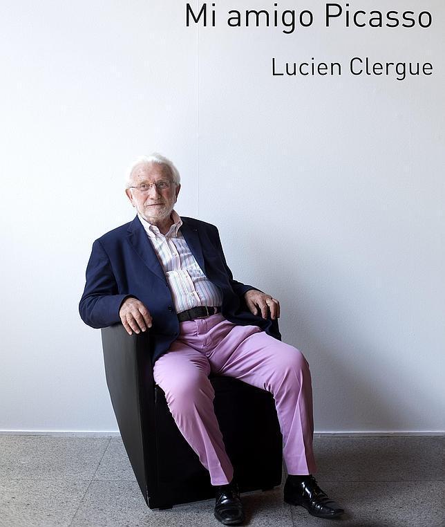 Lucien Clergue, ayer en el Instituto Francés de Madrid