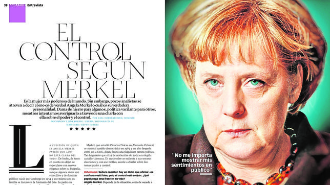 Merkel, descubre su lado más humano en una entrevista con XL Semanal