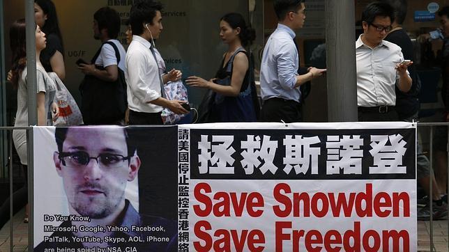 Estados Unidos presiona a Hong Kong para que extradite al «topo» Snowden