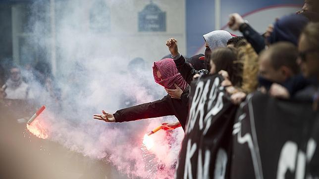 Catorce detenidos en una manifestación contra la extrema derecha en París