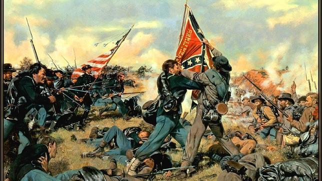 Héroes españoles en la Guerra Civil americana