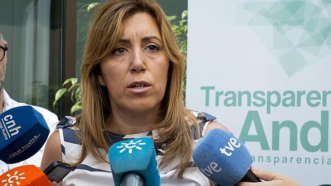 Susana Díaz cree que el PSOE tiene la «responsabilidad» de exigir «explicaciones»
