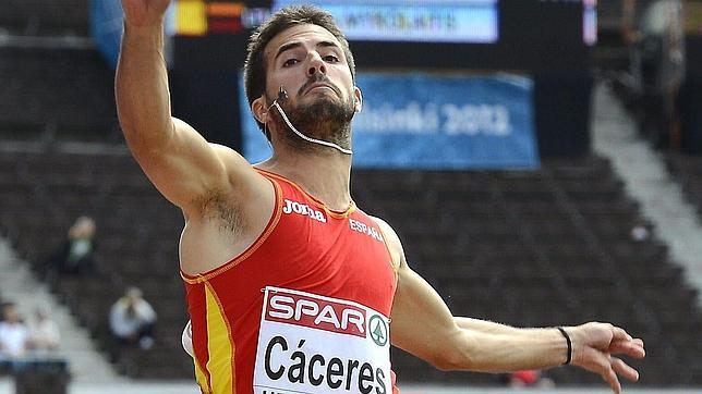 Eusebio Cáceres: «Es un orgullo que me digan que tengo opciones de medalla»