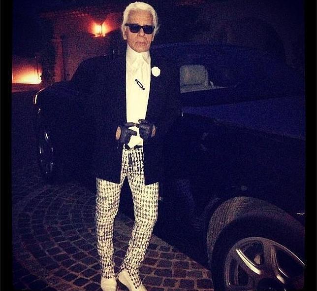 Las vacaciones de Karl Lagerfeld