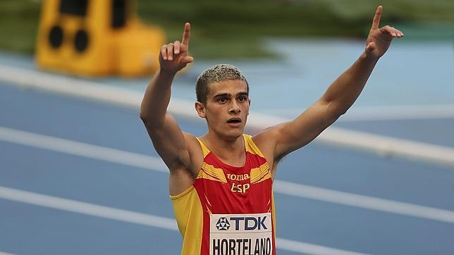 Hortelano, a semifinales de los 200 metros con nuevo récord de España