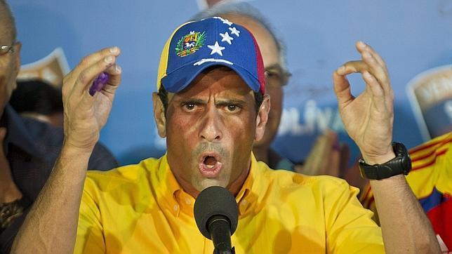 Capriles dice estar preparado para «que me meta preso el Gobierno de Maduro»