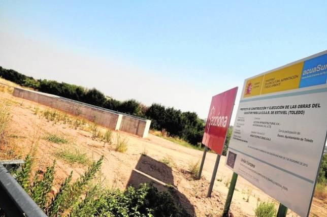 La nueva depuradora de Toledo para 250.000 habitantes estará a final de año