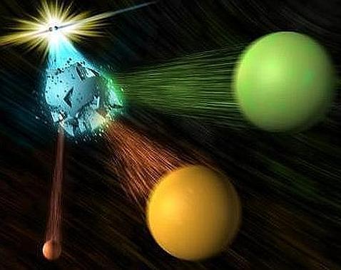 Escucha cómo suena la antimateria