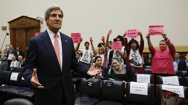 La comisión de Exteriores del Senado de EE.UU. aprueba el ataque a Siria