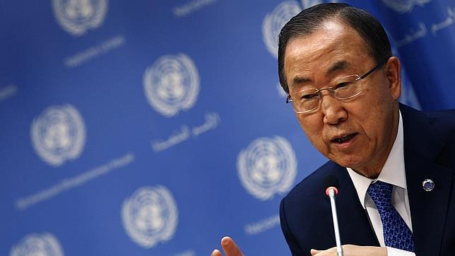 Ban pide una acción «firme» del Consejo en Siria a través de una resolución «vinculante»