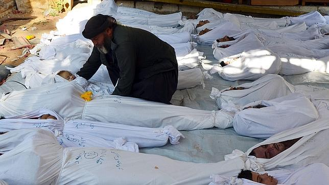 Rusia insiste en acusar a los rebeldes sirios de al menos dos ataques con sarín