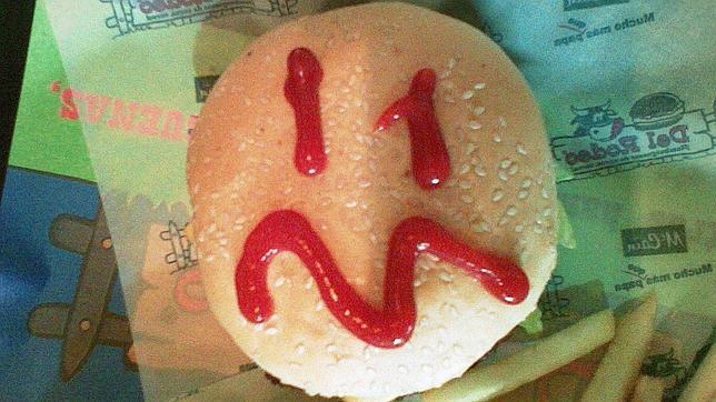 ¿Estás triste? Es por culpa de las hamburguesas