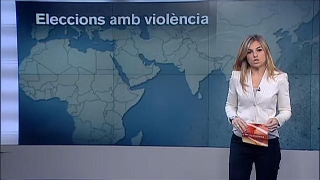TV3 ya dibuja a Cataluña segregada del resto de España