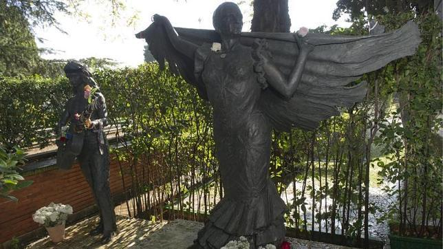 Diez tumbas de famosos en Madrid