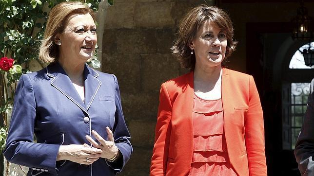 Los tartazos que recibió Yolanda Barcina en Toulouse, «antidemocráticos»