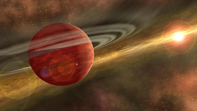 Descubren un extraño planeta huidizo