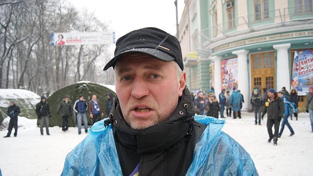 Dispuestos a resistir ante Yanukóvich