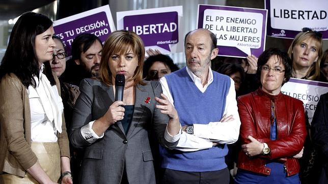 El PSOE intenta maquillar el fracaso de su ofensiva por el aborto en Europa