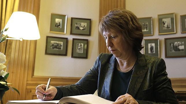 la jefa de la diplomacia de la UE, Catherine Ashton, en una fotografía de archivo