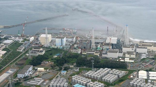 Detectan fugas de agua contaminada en una barrera de contención de Fukushima