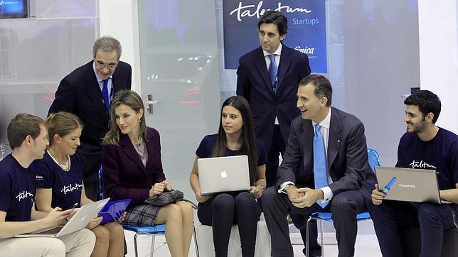 El Príncipe llama a los jóvenes emprendedores españoles a ser referentes mundiales