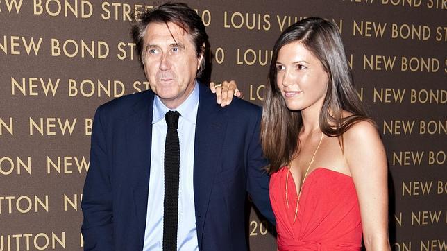Bryan Ferry se divorcia de su segunda esposa, 38 años más joven que él
