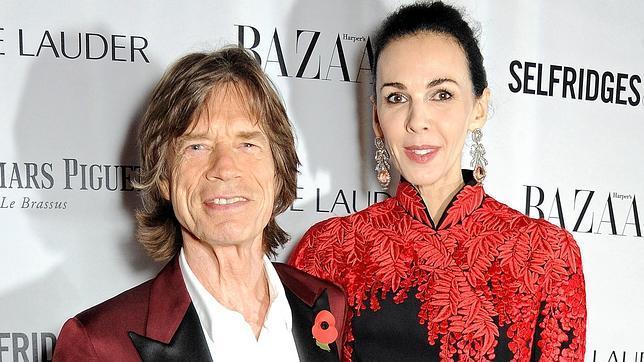 La última carta de Mick Jagger a su novia muerta, L'Wren Scott: «Jamás te olvidaré»