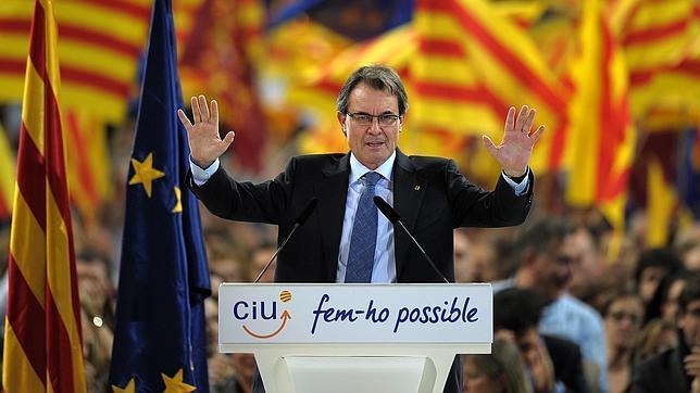 Los anhelos independentistas de Artur Mas chocan contra la legalidad
