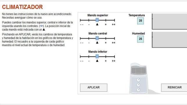 Informe Pisa: ¿Sabrías cómo utilizar el climatizador o el mp3?