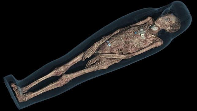 Tamut, la momia de 3.000 años, con pelo a lo «garçon» y que «cantaba a los dioses»