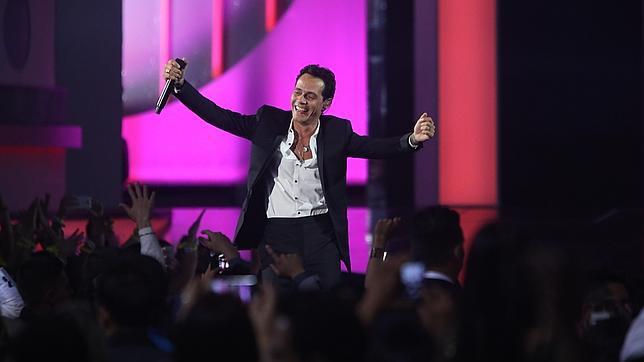 La gran noche de Marc Anthony en los Billboard de la Música Latina