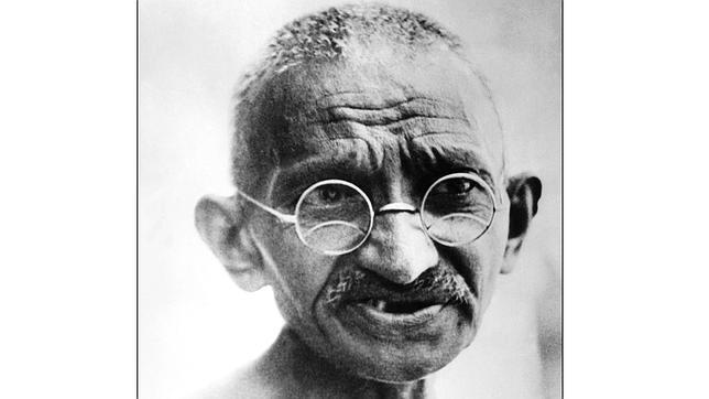 Una instantánea de Gandhi en 1931