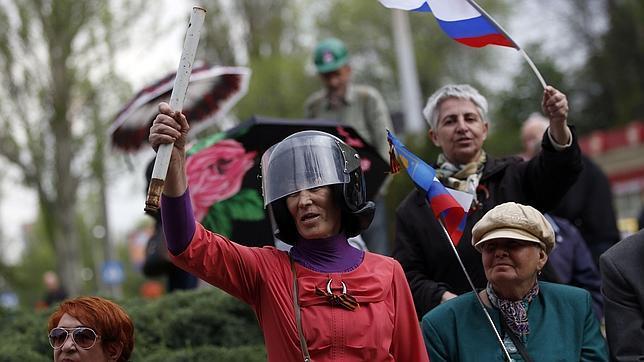 Los separatistas quieren recrear la región zarista de «Nueva Rusia» en Ucrania