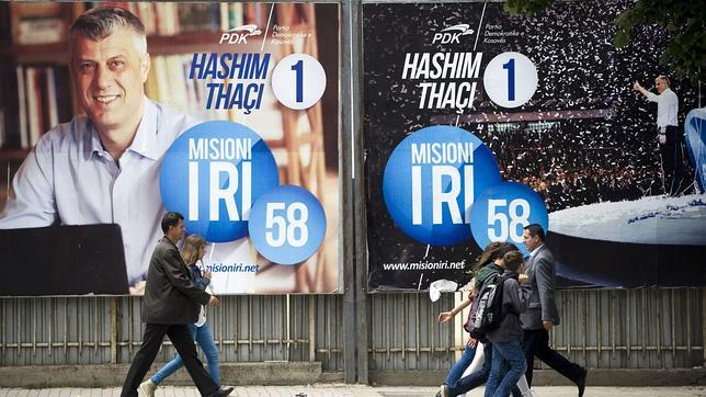 Gana en Kosovo el partido del primer ministro Thaci, según sondeo