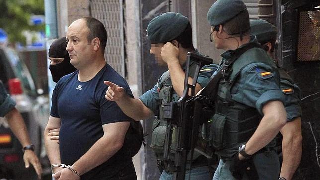 Madina Echevarría, el etarra detenido, estuvo a las órdenes del jefe de comandos, «Ata»