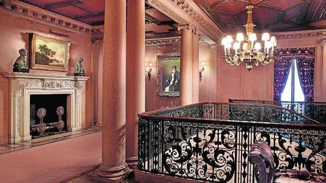 Vista actual de los interiores de Frick Collection