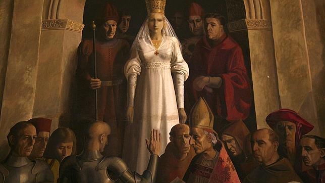 Proclamación de Isabel la Católica