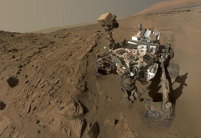 El Curiosity cumple su primer año marciano