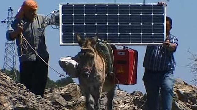 «Burros con wifi» para los pastores de Turquía
